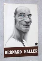 JOLIE ET RARE ANCIEN AFFICHE POSTER CINEMA ACTEUR - BERNARD HALLER - 38x57cm - Affiches