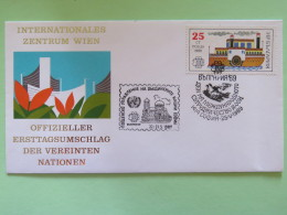 Bulgaria 1989 Ship - United Nations (Wien) Expo Special Cancel - Bulgarien