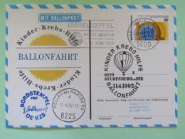 United Nations (Wien) 1992 Special Cancel On Balloon Card To Wien - Chemistry Science - Pollau - Wenen - Kantoor Van De Verenigde Naties