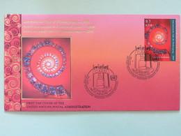 United Nations (Wien) 2000 FDC Cover Year Of Thanksgiving - Wien - Internationales Zentrum