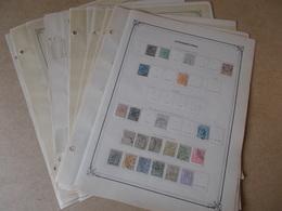 LUXEMBOURG.. Collection Sur Page D'album , Neufs * Ou Oblit. - Timbres