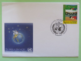 United Nations (Wien) 2004 Special Cancel On Cover - NUMPHIL - My Dream For Peace - Painting From Peru - Wien - Internationales Zentrum
