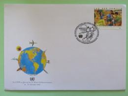 United Nations (Wien) 2006 FDC Cover Family Day - Wien - Internationales Zentrum
