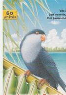 TELECARTE 60 UNITES  POLYNESIE FRANCAISE...LES OISEAUX DE POLYNESIE - French Polynesia