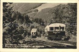 72034903 Bergbahn Oberweissbach Steigung 1:4  Bergbahn - Railway