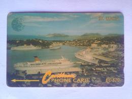 14CSLB Cruise Ships EC$20 - St. Lucia