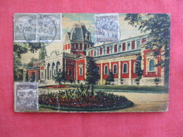 Hungary Budapest  Oil Painting Type Stamps & Cancel Ref 2921 - Hungary
