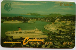 13CSLC Cruise Ships EC$20 - Santa Lucía