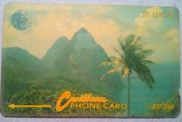 9CSLC Mountains EC$40 - St. Lucia