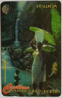21CSLA People Of St Lucia EC$10 - Santa Lucía