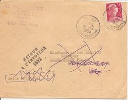 MULLER Sur   ENV  OBLI  BUCHY - 1921-1960: Modern Period