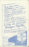 Buvard Lessive Trèfle - Blanchissage Rapide Et économique - Wash & Clean