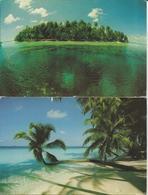 2 CART. MALDIVES (603) - Maldive