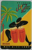 147CSLE Jazz Fest EC$20 No Slash  C/n - St. Lucia