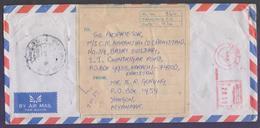 MYANMAR Postal History Cover, Registered Used 1995 Meter Franking - Myanmar (Burma 1948-...)