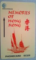 311CSLA Memories Of Hong Kong  EC$20 - St. Lucia