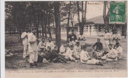 CAMP MILITAIRE DE SAINT MEDARD EN JALLES BONNE SOUPE SOUS LES ACACIAS MILITARIA 1912 TBE - Otros Municipios