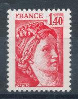 2101** Sabine 1,40f Rouge - France
