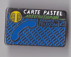 PIN'S THEME FRANCE TELECOM  CARTE PASTEL - France Telecom