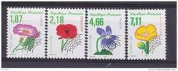 France Preo Preoblitété 1998 Serie Complète Neuve **  N° 240 à 243 Cote 8.50€ - Preobliterados