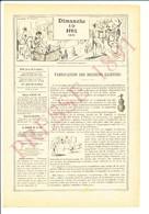 Presse 1891 Fabrication Des Boissons Gazeuses Appareil Prudon Et Dubost Eau De Seltz Bouteille Syphon  216CH12 - Old Paper
