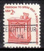 USA Precancel Vorausentwertung Preo, Locals Pennsylvania, Eighty Four 841 - Vereinigte Staaten
