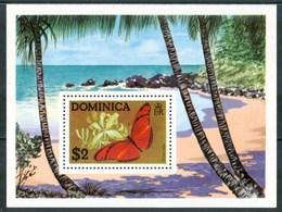 1975 Dominica Farfalle Butterflies Schmetterlinge Papillons MNH** Ye1 - Dominica (1978-...)
