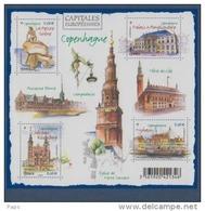2012-F4637** (4637/4640 )COPENHAGUE - Nuevos