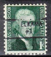 USA Precancel Vorausentwertung Preo, Locals Pennsylvania, Elrama 841 - Vereinigte Staaten