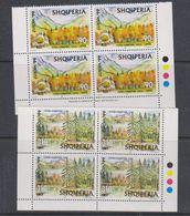 Europa Cept 1999 Albania 2v Bl Of 4 ** Mnh (38282) - 1999