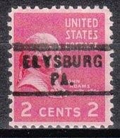 USA Precancel Vorausentwertung Preo, Locals Pennsylvania, Elysburg 729 - Vereinigte Staaten