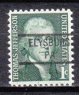 USA Precancel Vorausentwertung Preo, Locals Pennsylvania, Elysburg 841 - Vereinigte Staaten