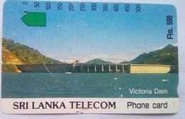 Victoria Dam Rs 500 (Tamura) - Sri Lanka (Ceylon)