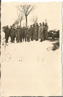 Photo Wechmacht WW2 , Motards Casques . Russie .stahlhelm . - 1939-45