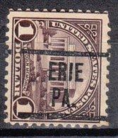 USA Precancel Vorausentwertung Preo, Locals Pennsylvania, Erie 571-204 - Vereinigte Staaten