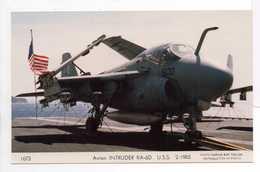 - CPSM AVION INTRUDER KA-6D U.S.S. 2-1985 - Photo MARIUS BAR 1673 - - 1946-....: Moderne