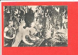 CAMBODGE Cpa Statue Ornant Le Pavillon Mortuaire De La Reine Mere          Photo Antonio Ou Anonio - Cambodia