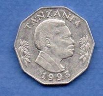 Tanzanie   - 5 Shilingi 1993   -  Km  # 23a2  - état  TTB - Tanzania