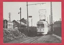 Familleureux ( Gare SNCB ) - Motrice PCC, Le 21 /01 /1956 - Repro's
