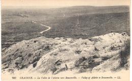 POSTAL   CRAONNE  -FRANCIA  - LA VALLÉE DE L'AILETTE VERS BOUCONVILLE  (VALLEY OF AILETTE TO BOUCONVILLE ) - Craonne