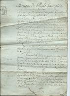 """An 12-""""AU NOM DU PEUPLE FRANCAIS- Département Des Vosges- Acte Notarié-4 Pages - Manuscripts"""
