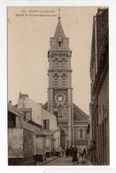- CPA SAINT-QUENTIN (02) - Eglise Du Faubourg Saint-Jean (avec Personnages) - N° 16 - - Saint Quentin