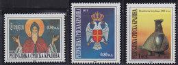 Croatia Republic Of Serbian Krajina 1994 Art - Culture And Tradition, MNH (**) Michel 23-25 - Croatie