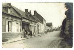 MONTIGNY - Rue Du Général Leclerc - Voyagée 1956 - Format 9x14 - Maignelay Montigny