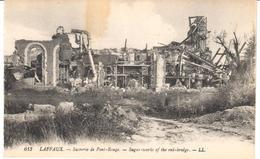 POSTAL   LAFFAUX  - FRANCIA  -SUCRERIE DE PONT-ROUGE  (SUGAR-WORKS OF THE RED-BRIDGE) - Soissons