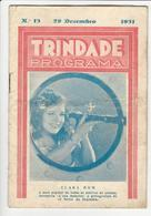 Program * Portugal * Trindade * 1931 * A Noiva Da Esquadra - Programmi