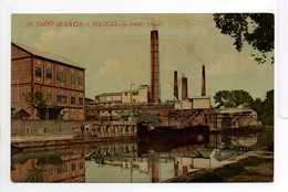 - CPA SAINT-QUENTIN (02) - ROCOURT : Le Canal - Usine - N° 38 - - Saint Quentin