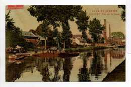 - CPA SAINT-QUENTIN (02) - ROCOURT : Vue Sur Le Canal 1908 - N° 44 - - Saint Quentin