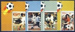 +B1417. Bhutan 1982. Football. Michel 766-69. MNH(**) - Bhoutan