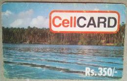 Cell Card Rs 350 Coast - Sri Lanka (Ceylon)